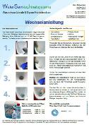 Bild Anleitung Verschlusswechsel für wasserlose Urinale