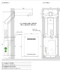 Dyson Tap Wandmontage AB11 Datenblatt und Maße