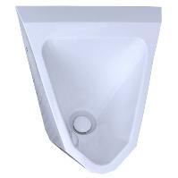 Geruchsverschluss WaterSave Verschluss eingebaut in wasserloses Urinal