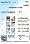 Bild Reinigungsanleitung wasserlose Urinale