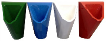 Edelstahl Urinal ExpliCit Color 4 Farben