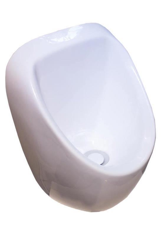 wasserlose Urinale SirOne GFK Seitenansicht