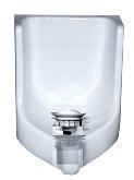 Waterless Urinal Anleitung Verschluss einsetzen