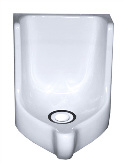 Waterless Urinal mit WaterSave Geruchsverschluss