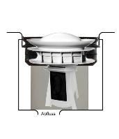 Waterless Urinalverschluss Wechsel Querschnitt