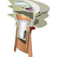 WaterSave Geruchsverschluss Modellzeichnung