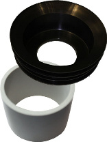 Waterless Urinal adapter set waterless