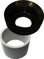 Waterless Urinal adapter set waterless
