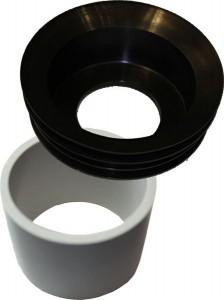 Urinaladapter und Stützring für Waterless Urinalmodelle